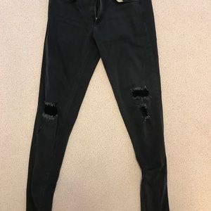 Rag and Bone Distressed Skinny Jeans